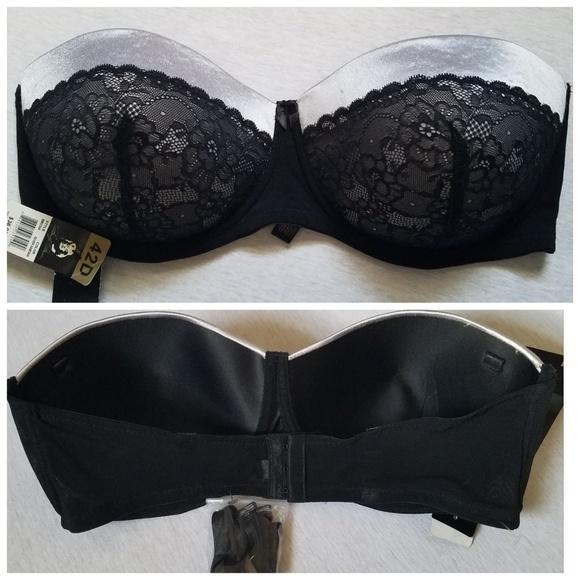5c839a8751e78 Nwt Marilyn Monroe convertible bra lace 42D